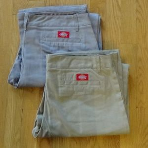 Set of (2) Dickies Girl Worker Pants 15